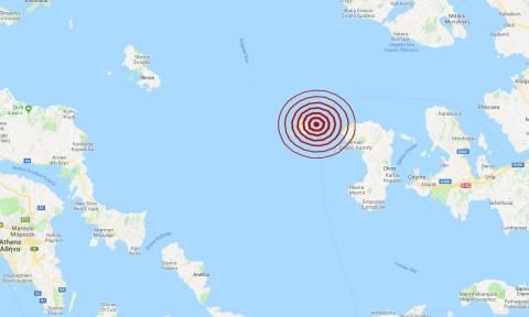 Σεισμός στα Ψαρά (pics)
