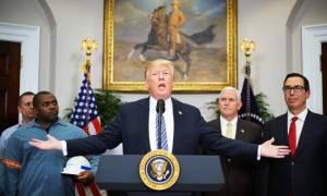 Ο πόλεμος του χάλυβα ξεκίνησε: Ο Τραμπ υπέγραψε το έγγραφο επιβολής δασμών