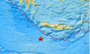 Σεισμός: «Ταρακουνήθηκε» η Κρήτη