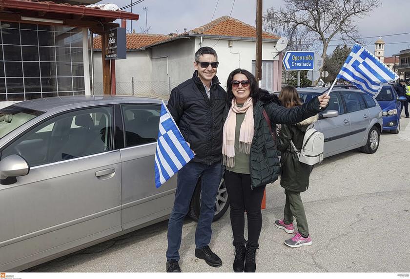 Ορεστιάδα: Σε εξέλιξη το μεγάλο συλλαλητήριο για τους δύο Έλληνες στρατιωτικούς (pics&vid)