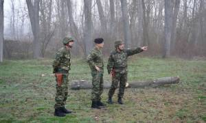 Στον Έβρο ο Αρχηγός ΓΕΣ: Ηχηρό μήνυμα προς την Τουρκία (pics)