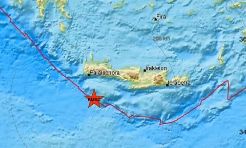 Σεισμός ΤΩΡΑ στη Γαύδο: «Ταρακουνήθηκε» και η Κρήτη