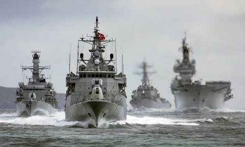Δείτε το χάρτη: Τώρα - Απίστευτη συγκέντρωση πολεμικών ναυτικών δυνάμεων πέριξ της Κύπρου