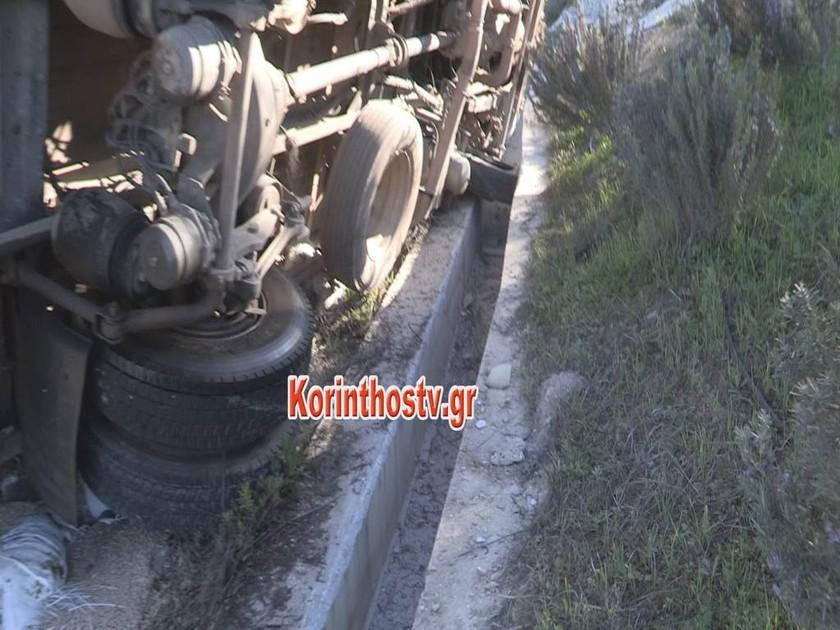 ΕΚΤΑΚΤΟ - Σοβαρό τροχαίο με λεωφορείο του ΚΤΕΛ στην Εθνική Οδό Κορίνθου – Τρίπολης - Εικόνες σοκ