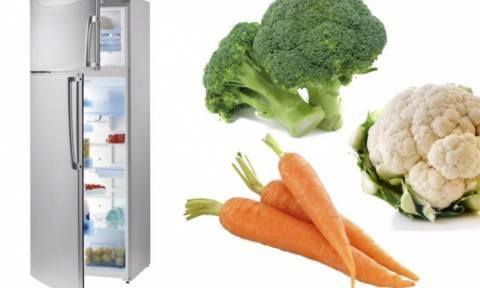 Προσοχή! Ο τρόπος που βάζετε φρούτα και λαχανικά στο ψυγείο είναι λάθος. Και έχουμε το σωστό (video)