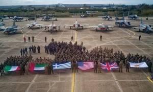 Κέιτ Σμιθ: Η πολυεθνική άσκηση «Ηνίοχος 2018» ενισχύει τις σχέσεις συμμάχων και φίλων