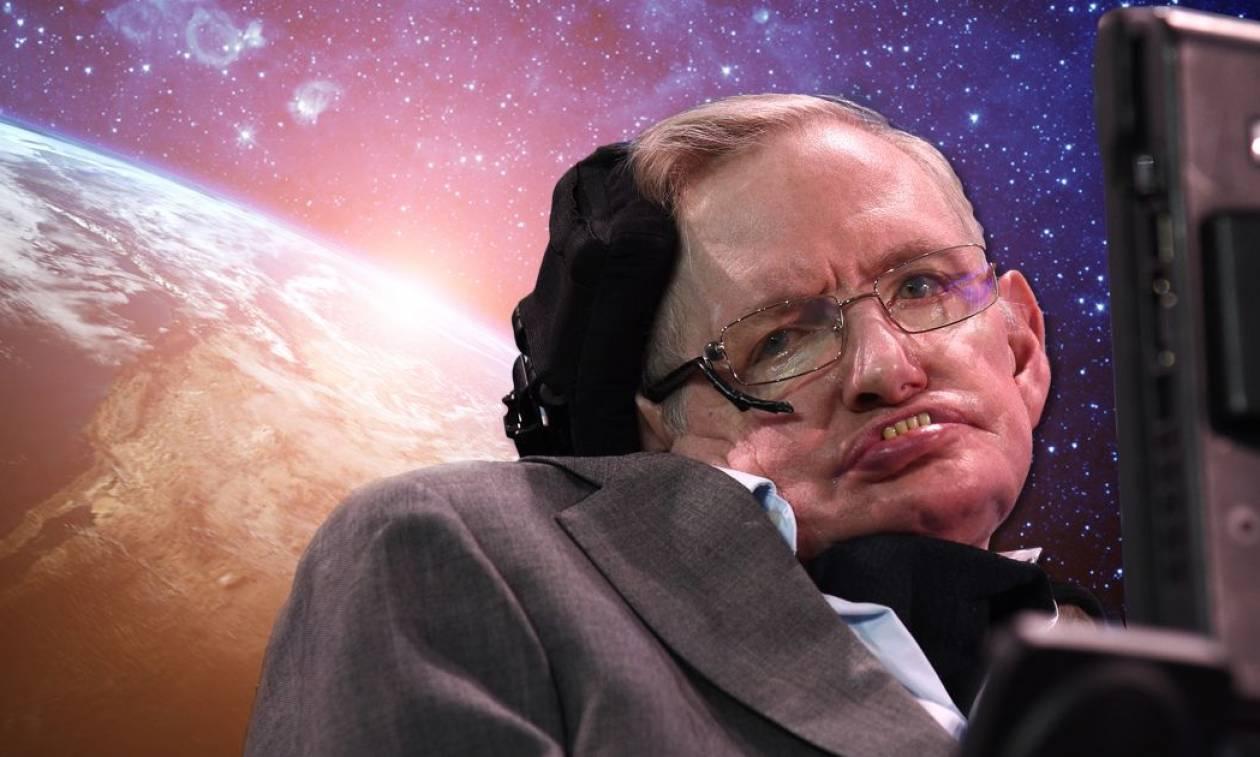 Πέθανε ο κορυφαίος Bρετανός αστροφυσικός Στίβεν Χόκινγκ (pics+vid)