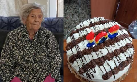 Κρήτη: Γιαγιά γίνεται 103 ετών και το γιορτάζει! (pics)