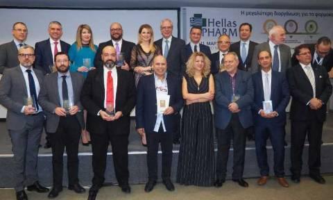 Hellas PHARM 2018: Αυτοί είναι οι νικητές των Αριστείων Φαρμακευτικής Αγοράς