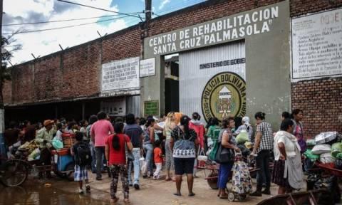 Βολιβία: Επτά νεκροί και 25 τραυματίες σε συγκρούσεις κρατουμένων με την αστυνομία (vid)