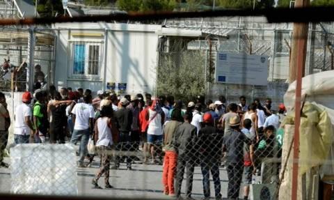 Μυτιλήνη: Σοβαρά επεισόδια στον καταυλισμό της Μόρια - Τραυματίες οκτώ αστυνομικοί