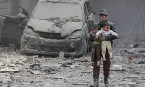 «Λουτρό αίματος» στη Συρία: Τουλάχιστον 1.220 άμαχοι νεκροί σε ένα μήνα στη Γούτα (ΣΚΛΗΡΕΣ ΕΙΚΟΝΕΣ)