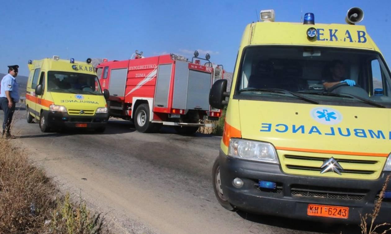 Σοκαριστικό τροχαίο στα Χανιά: Μητέρα και βρέφος εγκλωβίστηκαν στις λαμαρίνες (pics)