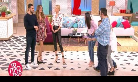 Βαλαβάνη - Γεωργαντάς: Έλυσαν τις διαφορές τους on air - «Έριχνες χολή…»