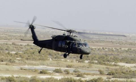 Ιράκ: Συντριβή αμερικανικού στρατιωτικού ελικοπτέρου κοντά στα σύνορα με τη Συρία