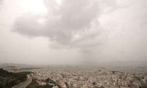 Καιρός τώρα: Με λασποβροχές και αφρικανική σκόνη η Παρασκευή (pics)
