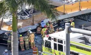 ΗΠΑ - Κατάρρευση πεζογέφυρας: Στους έξι ανέβηκε ο αριθμός των νεκρών (pics&vids)