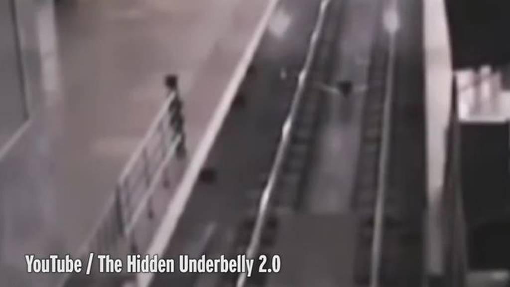 Ανατριχιαστικό βίντεο: Τρένο φάντασμα μεταφέρει επιβάτες σε παράλληλο σύμπαν!