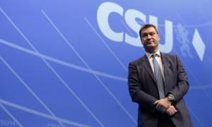 Ο Μάρκους Σέντερ νέος πρωθυπουργός της Βαυαρίας