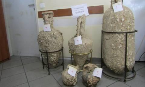 Χαλκίδα: Χειροπέδες σε 43χρονο αρχαιοκάπηλο (pics)