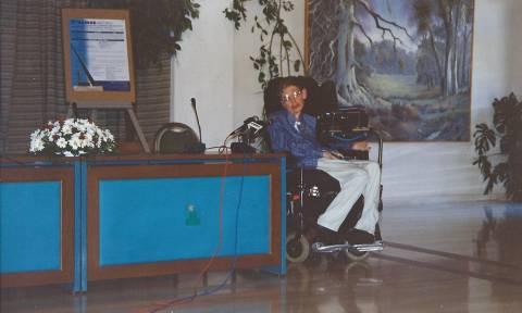 Όταν Στίβεν Χόκινγκ επισκέφτηκε την Ελλάδα πριν 20 χρόνια (Pic+Vids)
