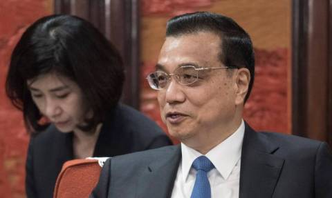 Ο Λι Κετσιάνγκ εξελέγη για δεύτερη φορά πρωθυπουργός της Κίνας