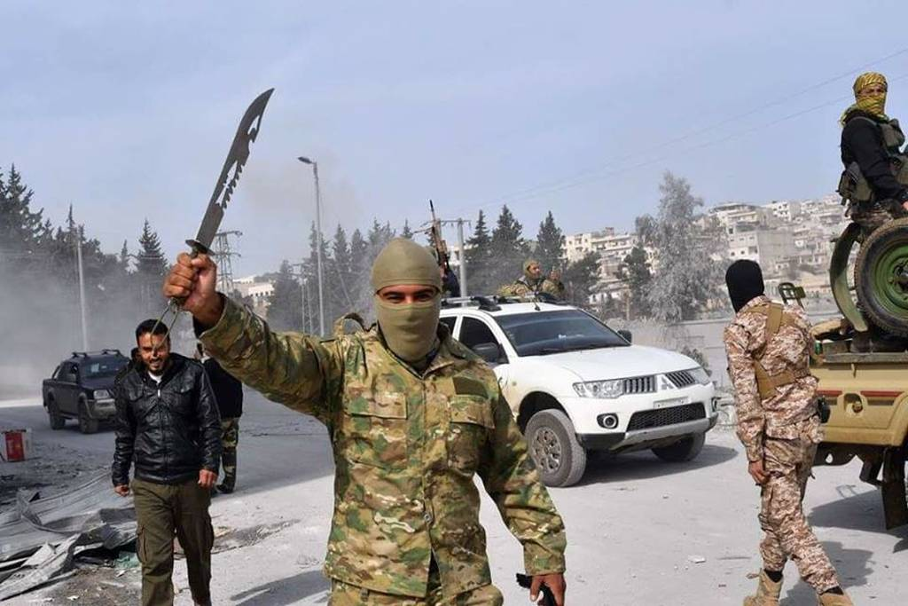 Η σφαγή του Αφρίν: Αίμα, θάνατος και φρικαλεότητες των Τούρκων κατά την άλωση της κουρδικής πόλης