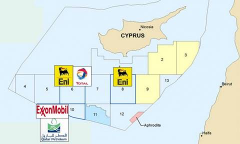 Όλα τα βλέμματα στην Κύπρο: Στο οικόπεδο 10 η αμερικανική ExxonMobil