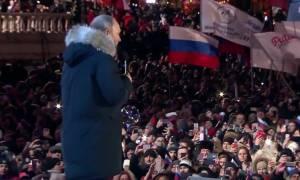 Ρωσία εκλογές - Βλαντιμίρ Πούτιν: Η χώρα έχει ένα μεγάλο μέλλον μπροστά της (video)