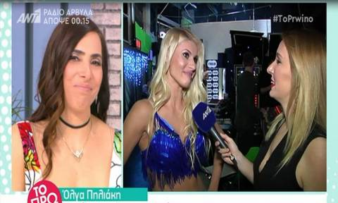 Όλγα Πηλιάκη: Ο Χανταμπάκης έφυγε στα μισά του Dancing with the Stars γιατί…