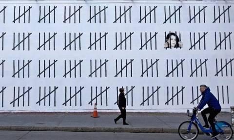 O ανατρεπτικός Banksy «ξαναχτύπησε» κατά της «χούντας» Ερντογάν στην Τουρκία (Pics)