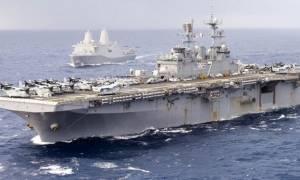 Τσαμπουκάδες τέλος! Στη Λεμεσό το αεροπλανοφόρο των ΗΠΑ - Δεν πλησιάζουν οι Τούρκοι την ΑΟΖ