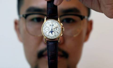 Στο σφυρί σπάνιο ρολόι του βασιλιά της Αιγύπτου Φαρούκ (pics)