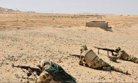 Αίγυπτος: Νεκροί 36 τζιχαντιστές και τέσσερις στρατιώτες σε μάχες στο Σινά