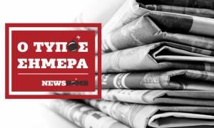 Athens Newspapers Headlines (20/03/2018)
