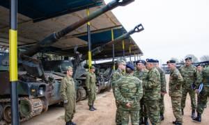Εκτάκτως στον Έβρο ο διοικητής της 1ης Στρατιάς – Γιατί επιθεώρησε τα τεθωρακισμένα