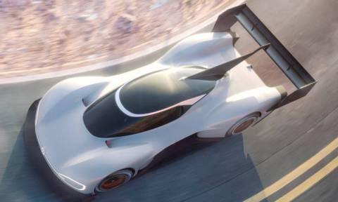 Το εντυπωσιακό ηλεκτρικό VW I.D. R. θα μετέχει στη διάσημη ανάβαση του Pikes Peak