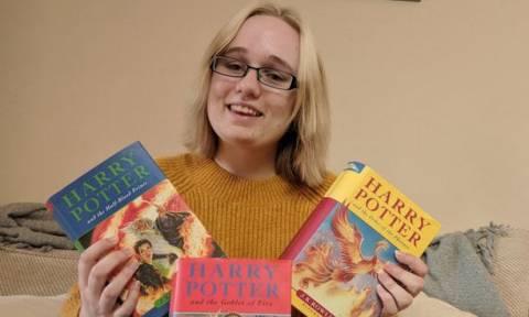 Απίστευτη τύχη: Αγόρασε τρία βιβλία «Χάρι Πότερ» με 10 ευρώ – Ούτε η ίδια δεν πιστεύει πόσο αξίζουν!