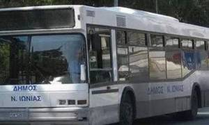 Νέα Ιωνία: Ο δήμος καταγγέλλει σοβαρές ζημιές στα λεωφορεία της δημοτικής συγκοινωνίας