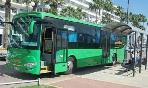 В Лимассоле бастуют водители городских автобусов