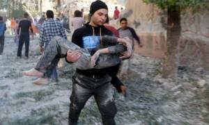 Χωρίς τέλος το αιματοκύλισμα αμάχων και παιδιών στη Συρία – Τουρκικοί βομβαρδισμοί και στο Ιράκ
