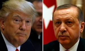 Έκτακτη τηλεφωνική επικοινωνία Τραμπ - Ερντογάν