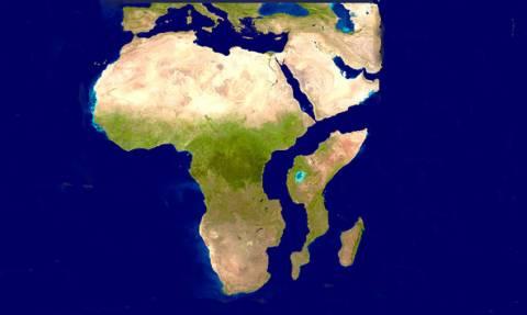 Έρευνα - σοκ: Τεράστιο ρήγμα θα χωρίσει την Αφρική στα δύο! (Pics+Vids)