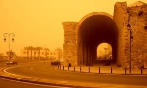 Καιρός: Πότε θα υποχωρήσει η αφρικανική σκόνη που «πνίγει» την Κρήτη (pics)