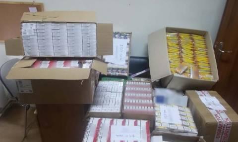 Θεσσαλονίκη: Eπτά συλλήψεις για λαθραία τσιγάρα - Κατασχέθηκαν περισσότερα από 6.300 πακέτα