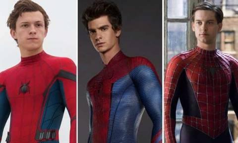 Αυτός είναι ο καλύτερος Spiderman (poll)