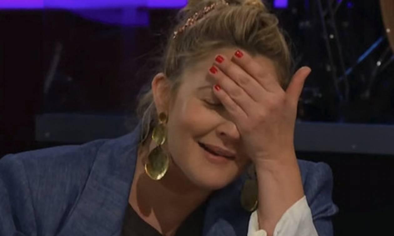 Η γκάφα της Drew Barrymore