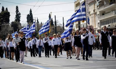 25η Μαρτίου: Οι μαθητές τίμησαν την επέτειο της Ελληνικής Επανάστασης (pics)