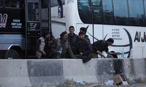Περισσότεροι από 105.000 άμαχοι εγκατέλειψαν την Ανατολική Γούτα
