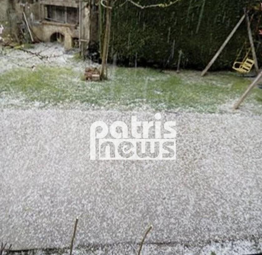 Καιρός - Η μανία της φύσης χτυπά την Ελλάδα: Στο Βορρά χιόνια και στο Νότο σκόνη